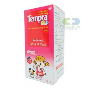 TEMPRA เทมปร้า คิดส์ กลิ่นสรอเบอรี่ 60มล.