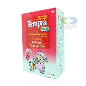 TEMPRA เทมปร้า ชนิดหยด กลิ่นองุ่น (15มล)